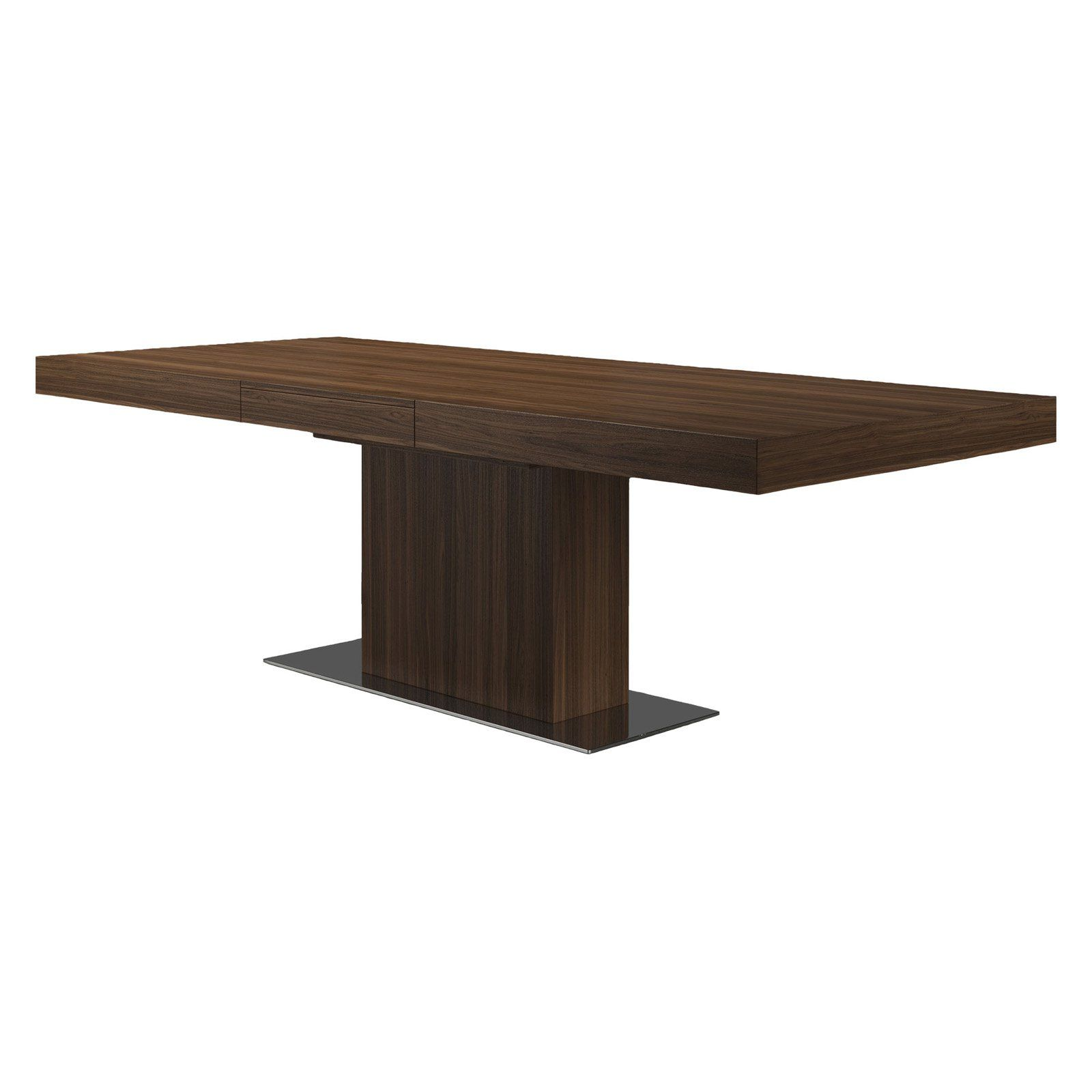Modloft Astor Rectangle Dining Table Wenge Dining Table