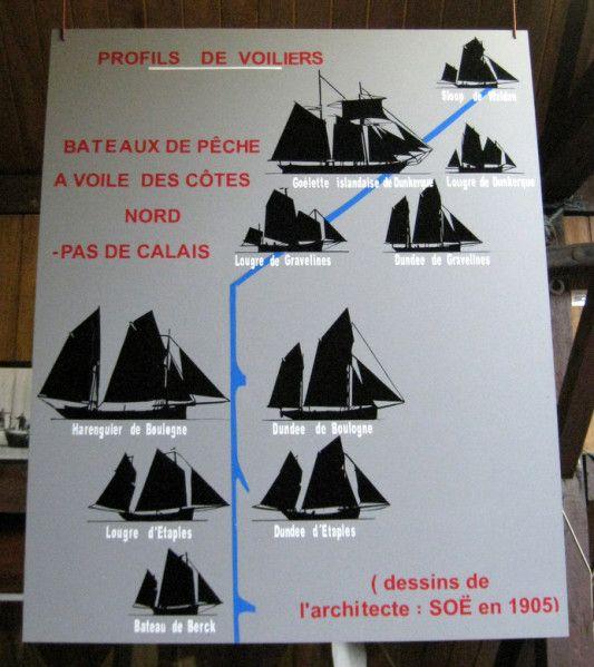 Bateau de Berck Model, Musée de la Marine d'Etaples