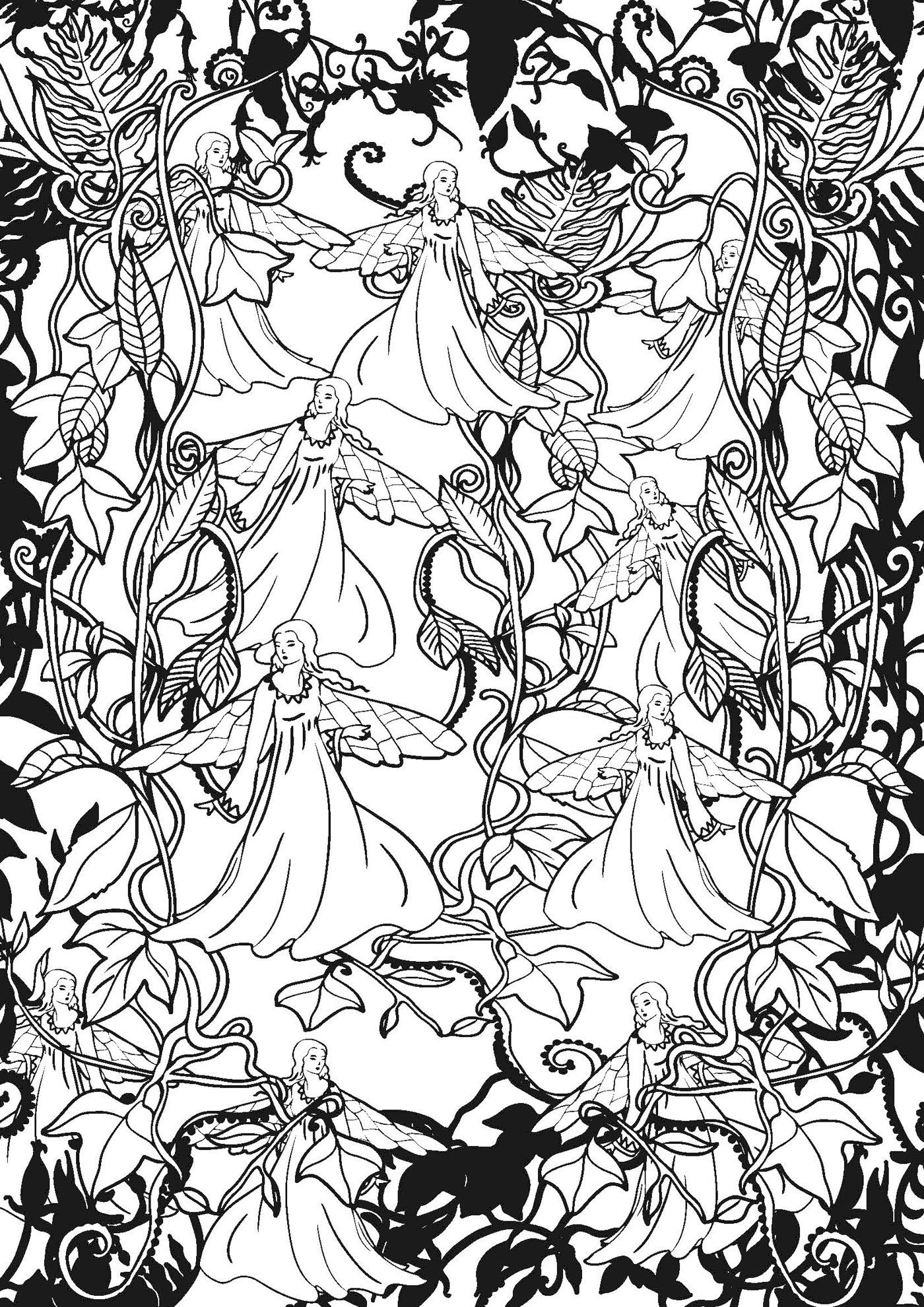 Art therapie forets feeriques 100 coloriages anti stress french edition marthe mulkey - Coloriage art therapie ...