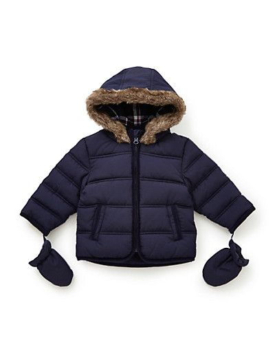 Padded Jacket & Mittens with Stormwear™ Clothing
