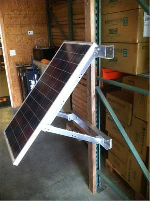 Bsp65 12 Bsp80 12 Portrait Side Of Pole Panel Mount In 2020 Solar Panels Residential Solar Panels Solar Panel Kits