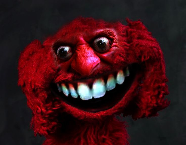 Image Result For Scary Elmo Elmo Memes Scary Creepy