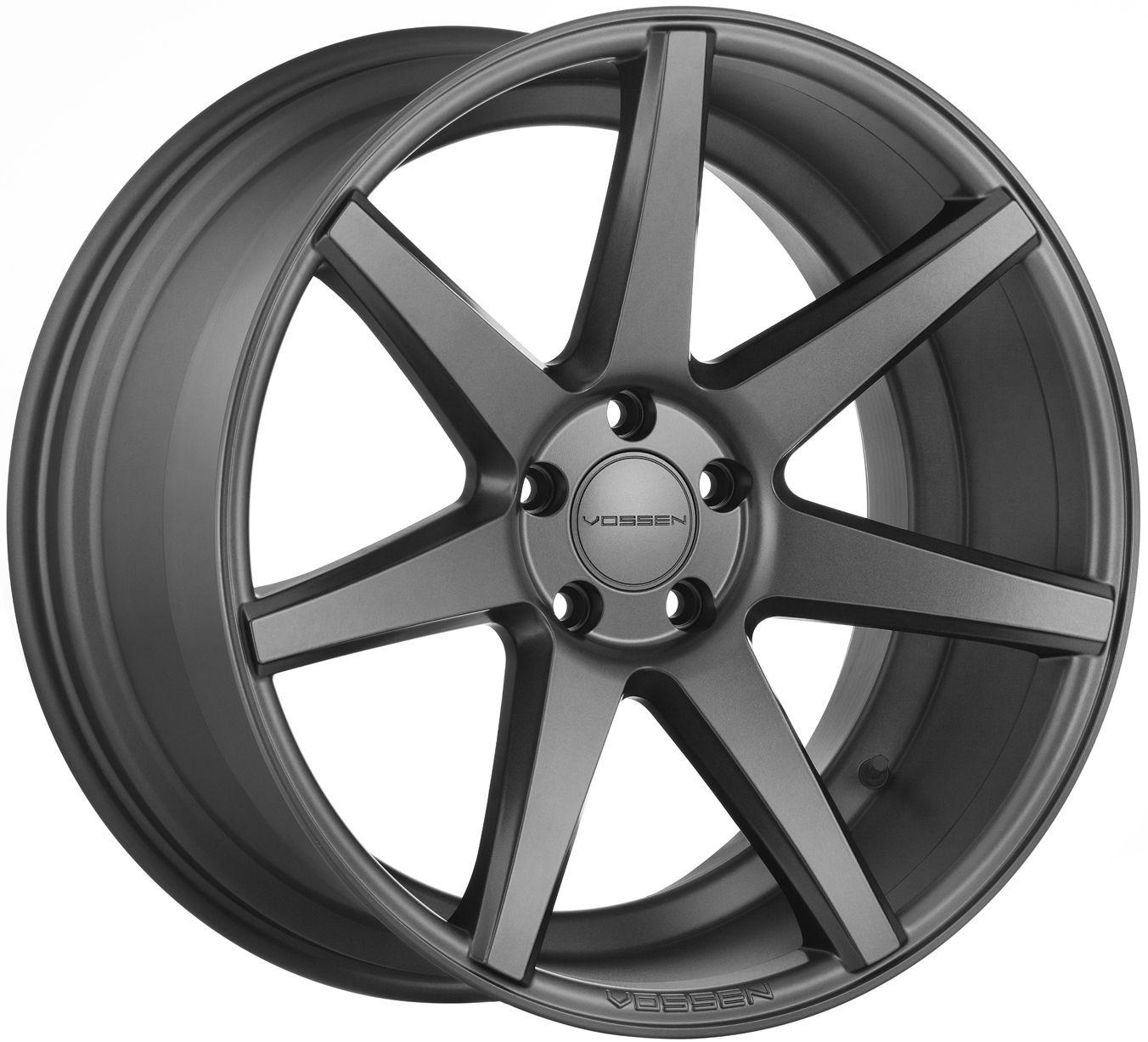 Vossen cv7 matte graphite wheelgram wheelsperformance vossen