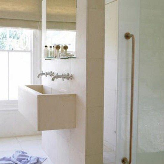 Naturstein  Badezimmer Wohnideen Badezimmer Living Ideas Bathroom