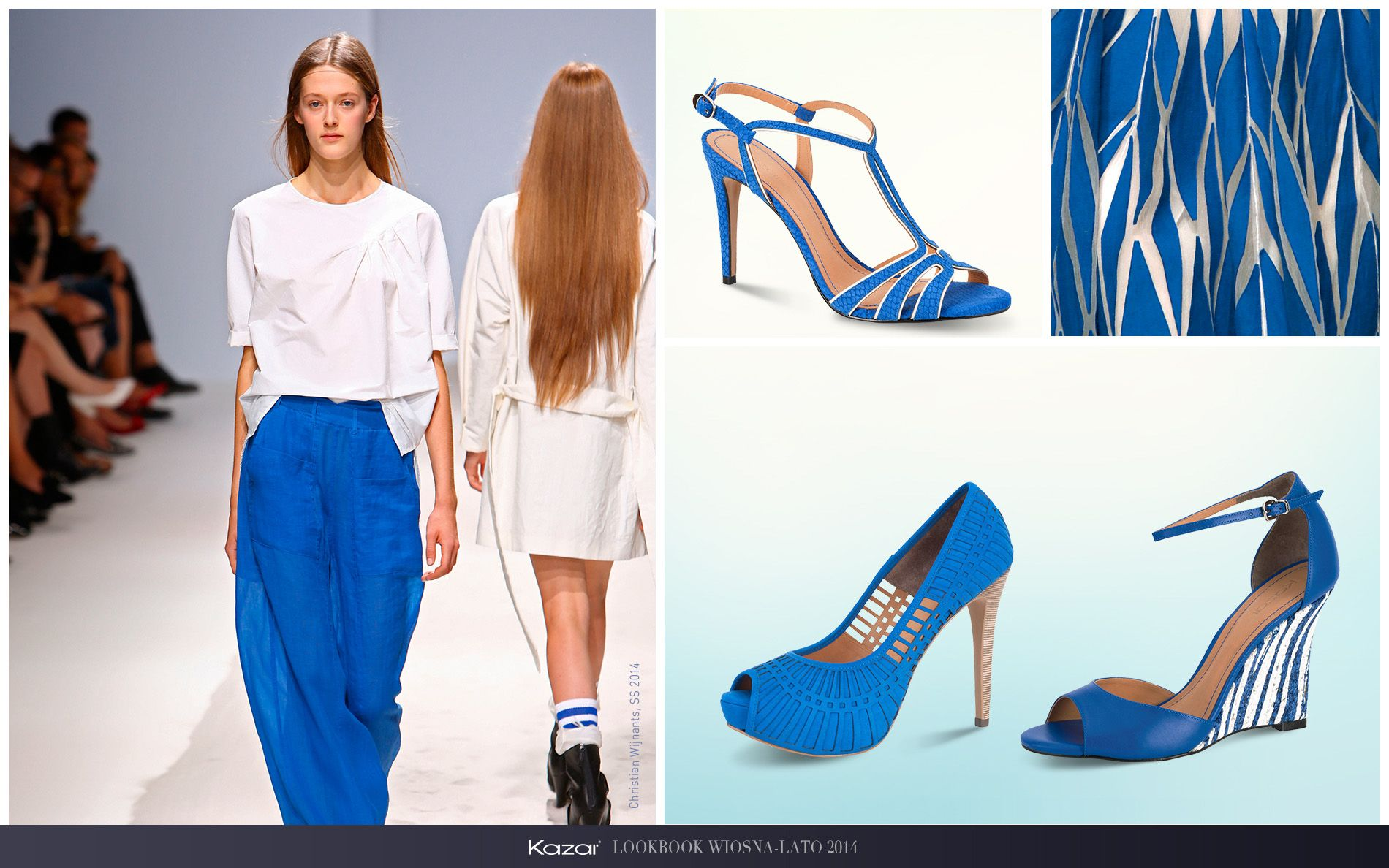 Kazar Moja Inspiracja Amp Yves Klein Blue Kazar Fashion Heels Pumps