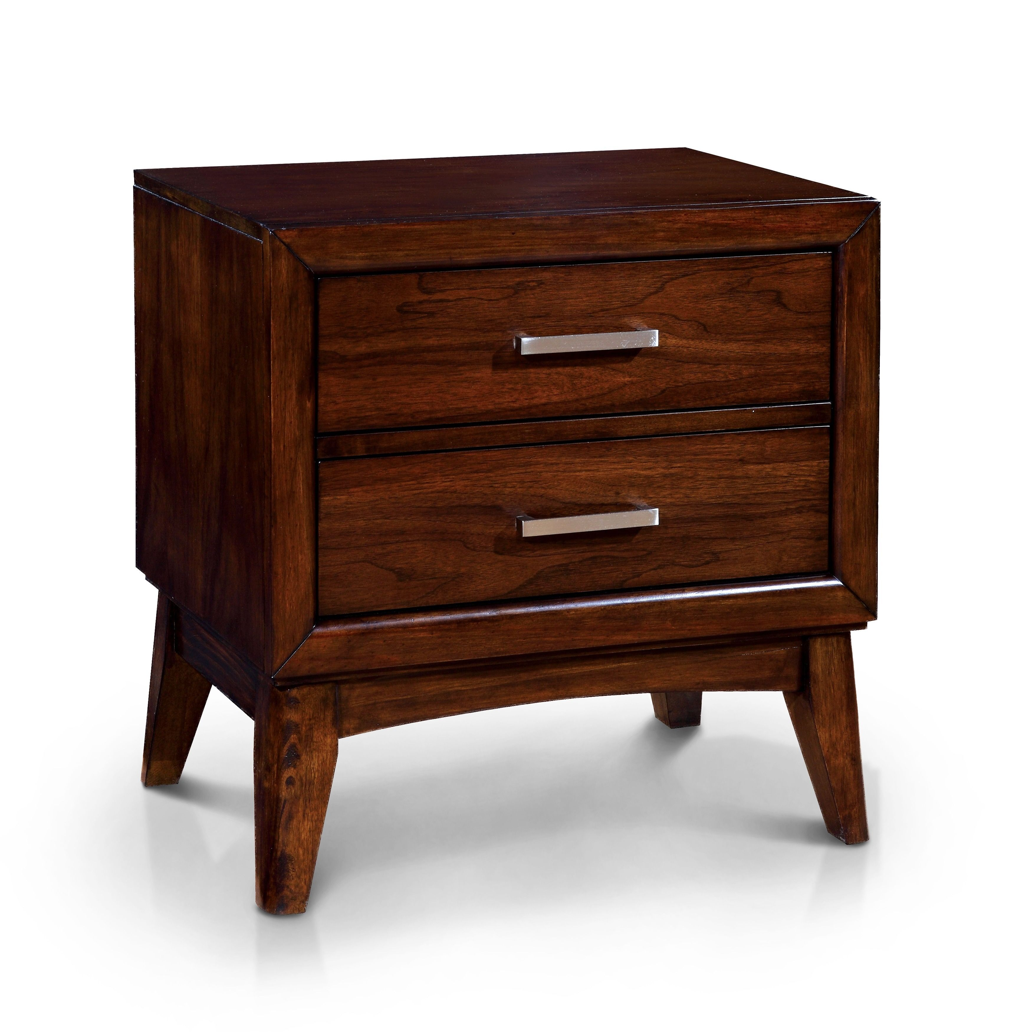 Copper Grove Kinglake Cherry 2-drawer Mid-century Style