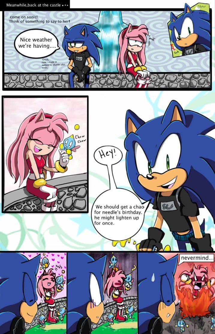 Lost Hero 14 By Agentskull On Deviantart Sonic Fan Characters Sonic Art Star Wars Comics Classicmariposazul's sneak peak for part 2 of sonamy boom fan comic deviantart. lost hero 14 by agentskull on