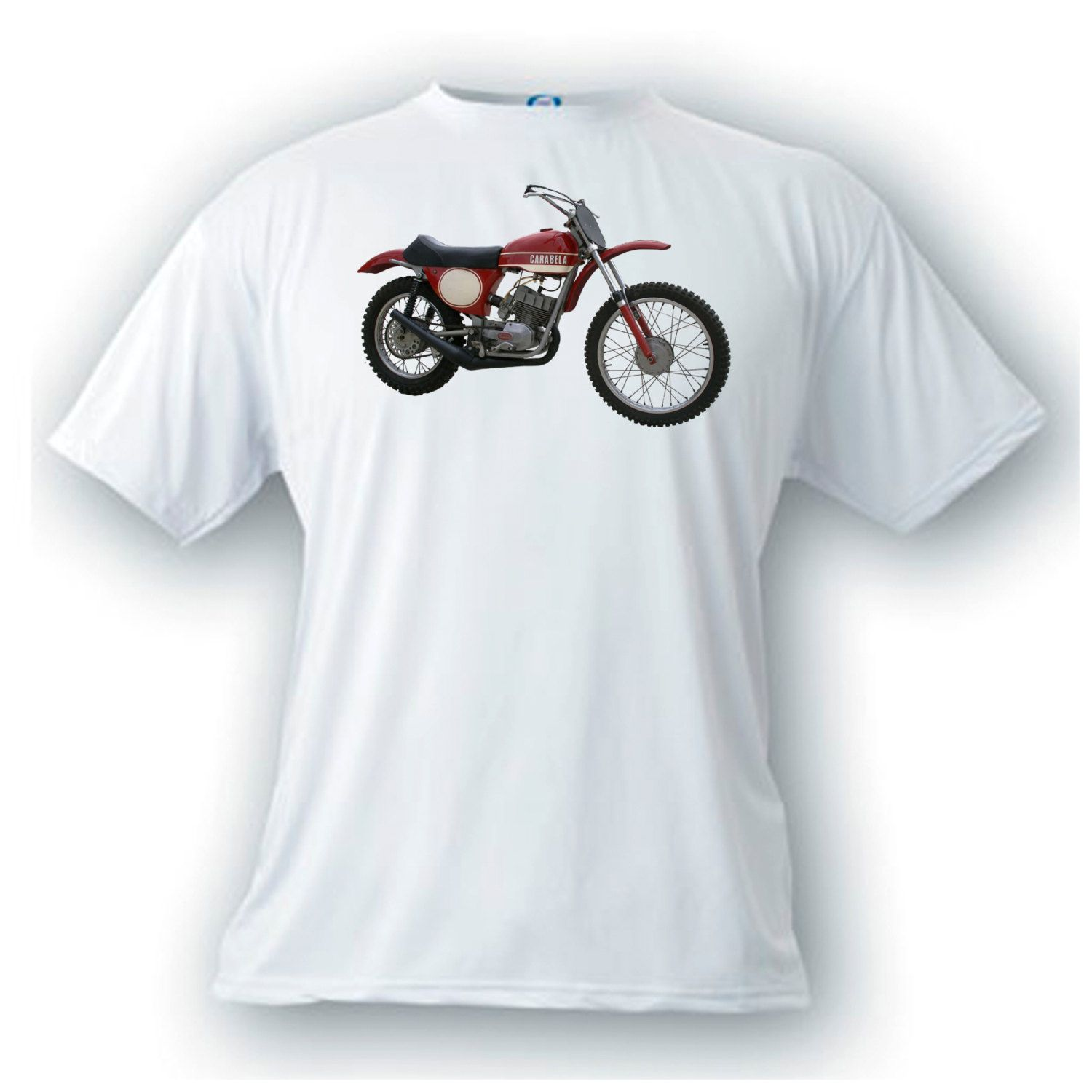 Greeves carabela vintage image motorcycle t-shirt by artonstuffdesigns on Etsy