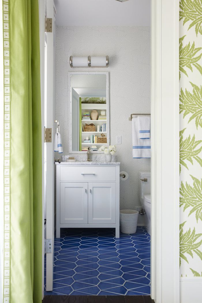 Coastal Living Aegean Sea Kite Floor | Installation Gallery | Fireclay Tile