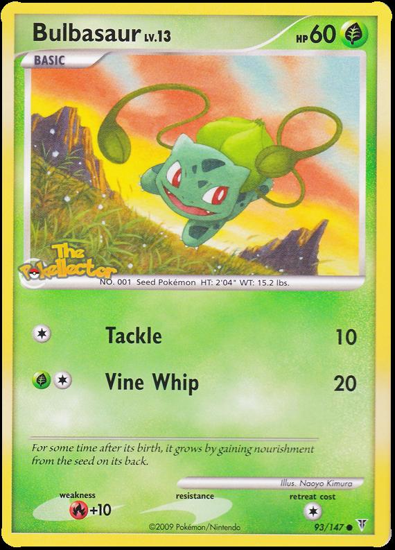 Bulbasaur Platinum Supreme Victors 93 Bulbasaur Pokemon Pokemon Cards