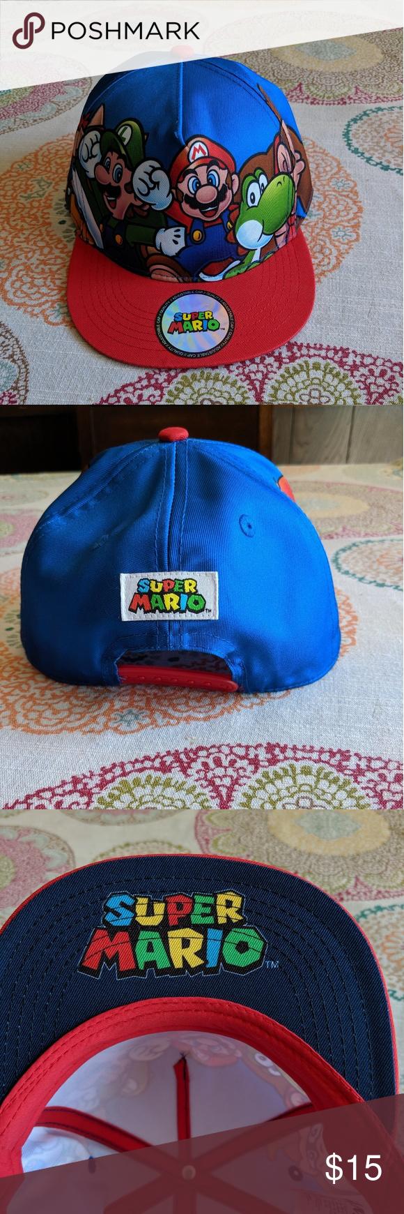 New Super Mario Bros Hat Super Mario Bros Super Mario Mario Bros
