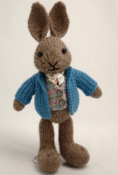 Muecos De Punto Iv Peter Rabbit Rabbit And Amigurumi