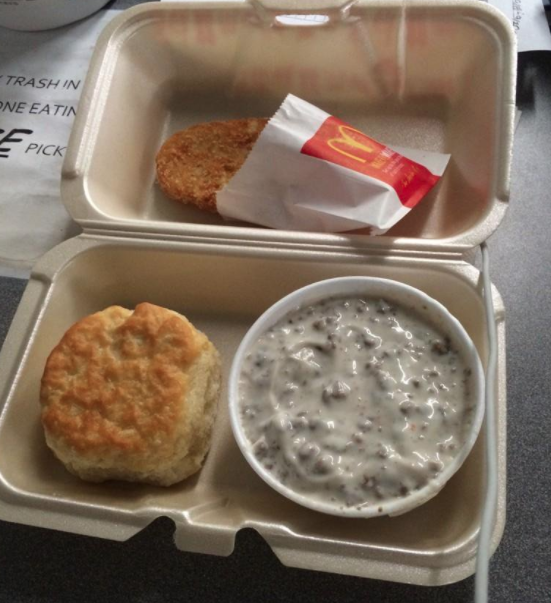 50 Weird Fast Food Menu Items You Can Only Get In Certain States In 2020 Mcdonalds Biscuits Biscuits And Gravy Sausage Gravy Recipe
