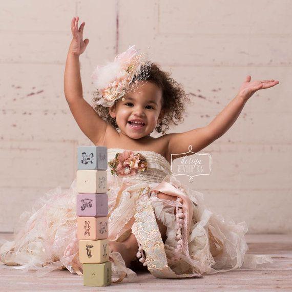 Rosa gehegten Doll Hut Baby Fotografie von DesignRevolutionProp