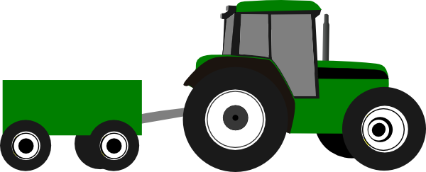 tractor with wagon clipart google search circut machine rh pinterest co uk clip art tractor pictures clip art tractor images
