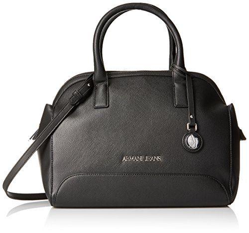 Armani Jeans Printed Eco Leather Top Handle Bag - http   handbags.kindle 82cf422c007f7