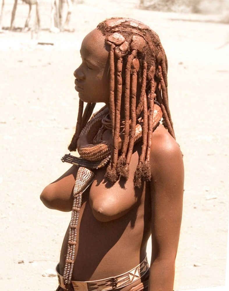naked black african women