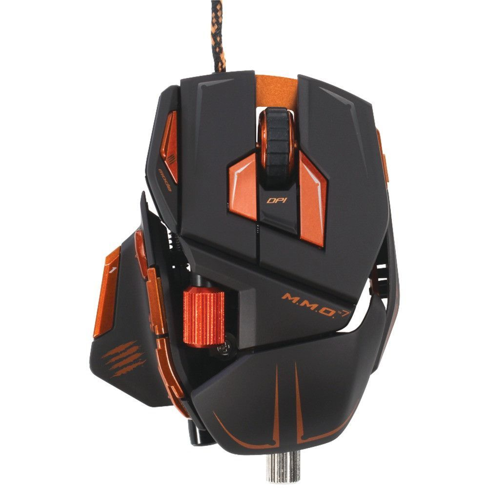 MADCATZ MCB437130002/04/1 M M O (TM) 7 Gaming Mouse (Black) | MY