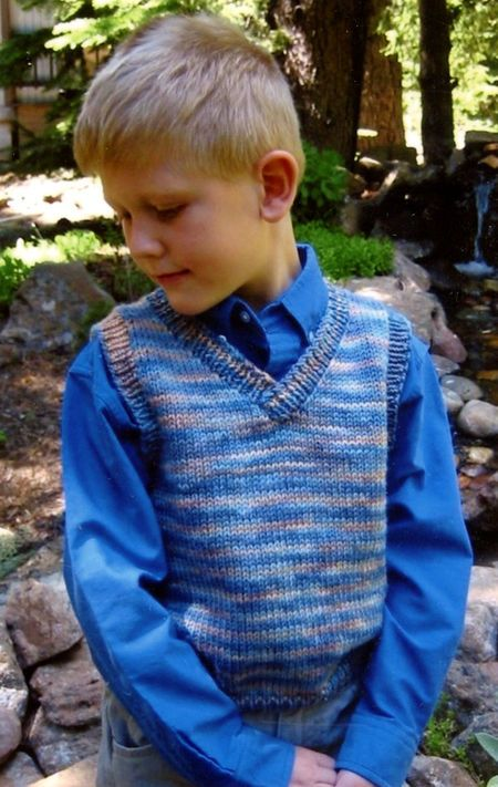 Basic Vest For Children By Knitting Pure And Simple Knitting Pattern