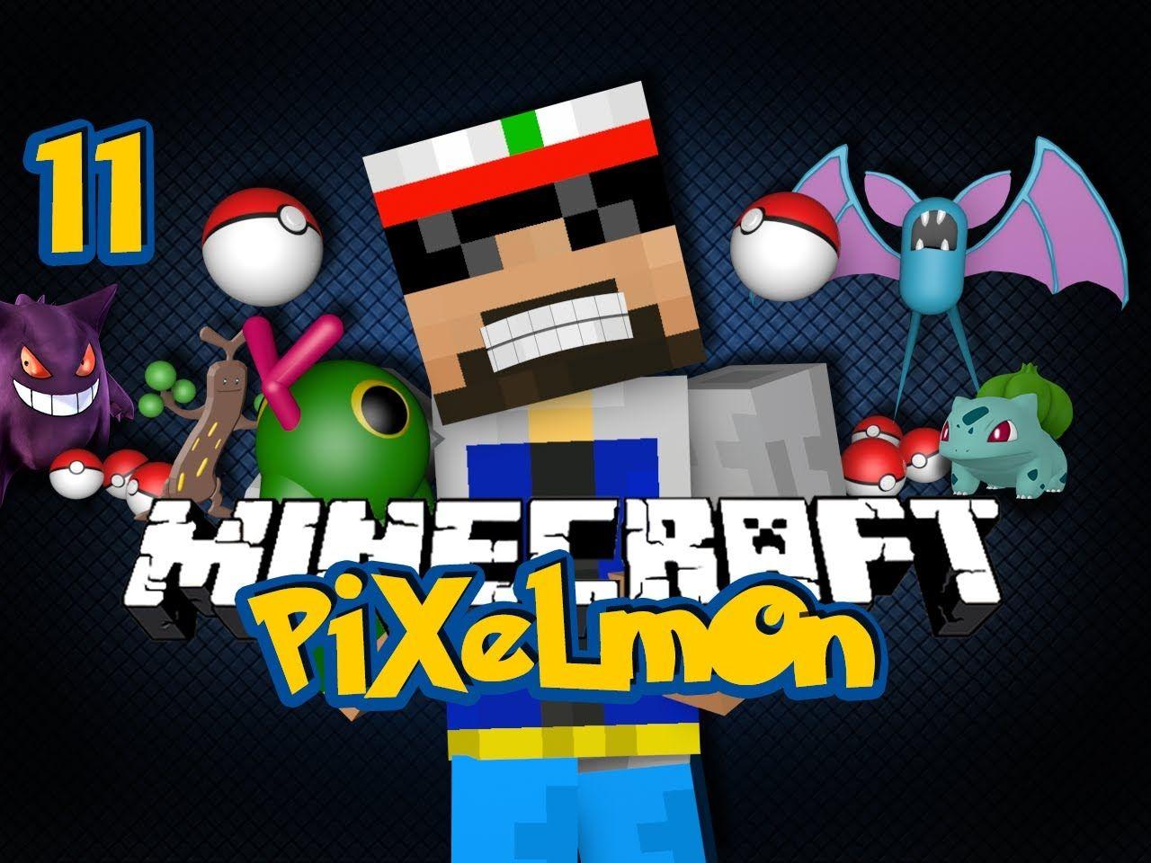 Minecraft Pixelmon 11 - JUNGLE BIOME IS MINE (Pokémon in Minecraft)