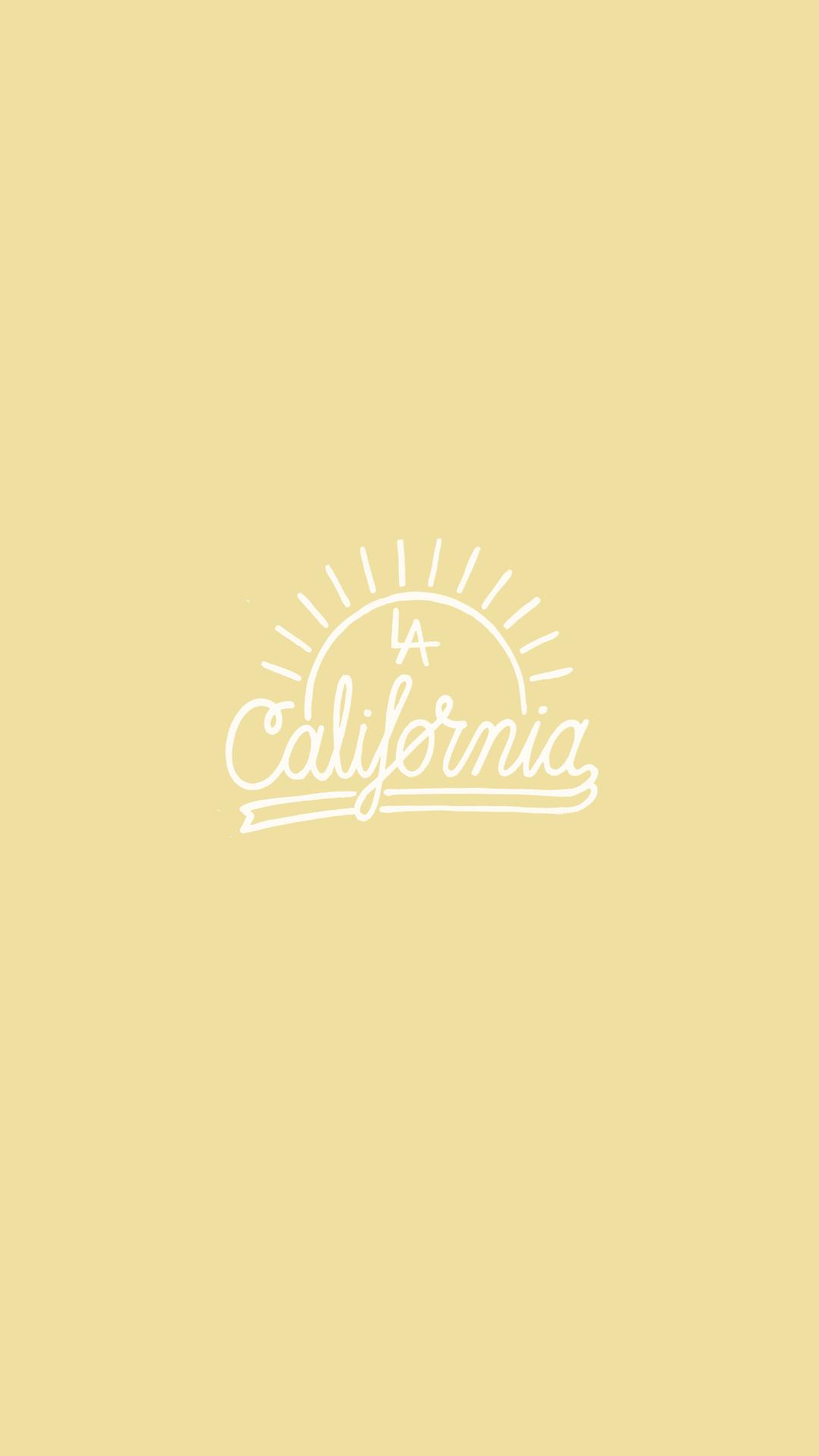 Phone Background Wallpaper California Type Lettering Wallpaper Iphone Summer California Wallpaper California Iphone Wallpaper