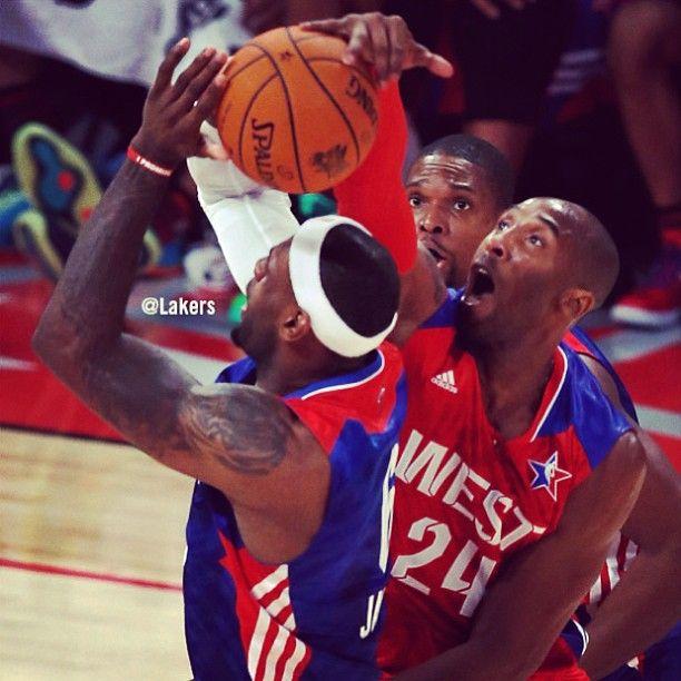 32b8011de3f Kobe Bryant blocks Lebron James