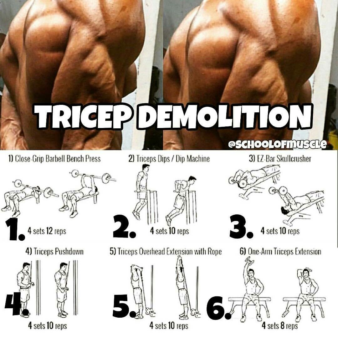 Chest Workouts Workout MenTriceps WorkoutTri WorkoutFitness PlanMuscle