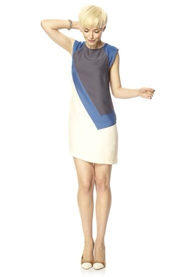 vestidos combinados en dos colores - Buscar con Google