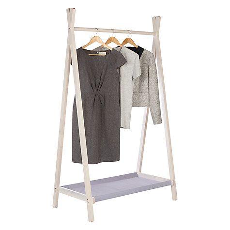 Buy John Lewis Coastal Clothes Rail Online at johnlewis.com