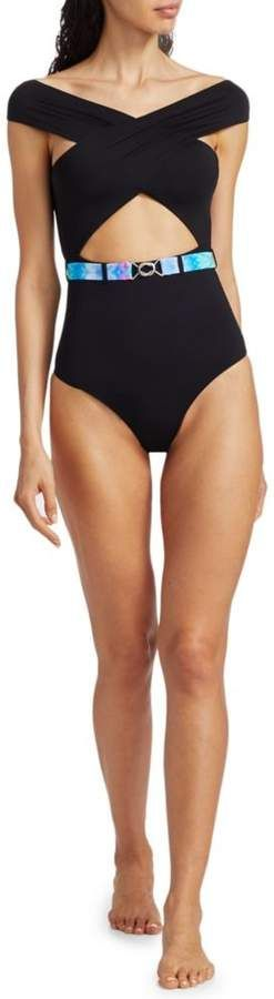 Onia Cindy Belted Cutout One-Piece Swimsuit #Sponsored , #SPONSORED, #Belted#Cindy#Onia