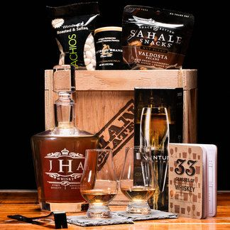 Personalized Laser-Etched Gifts for Men   Man Crates   Man crates,  Personalized whiskey, Whiskey