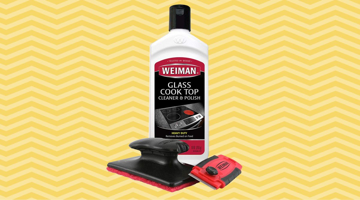 Amazon shoppers love the weiman cooktop cleaner kit