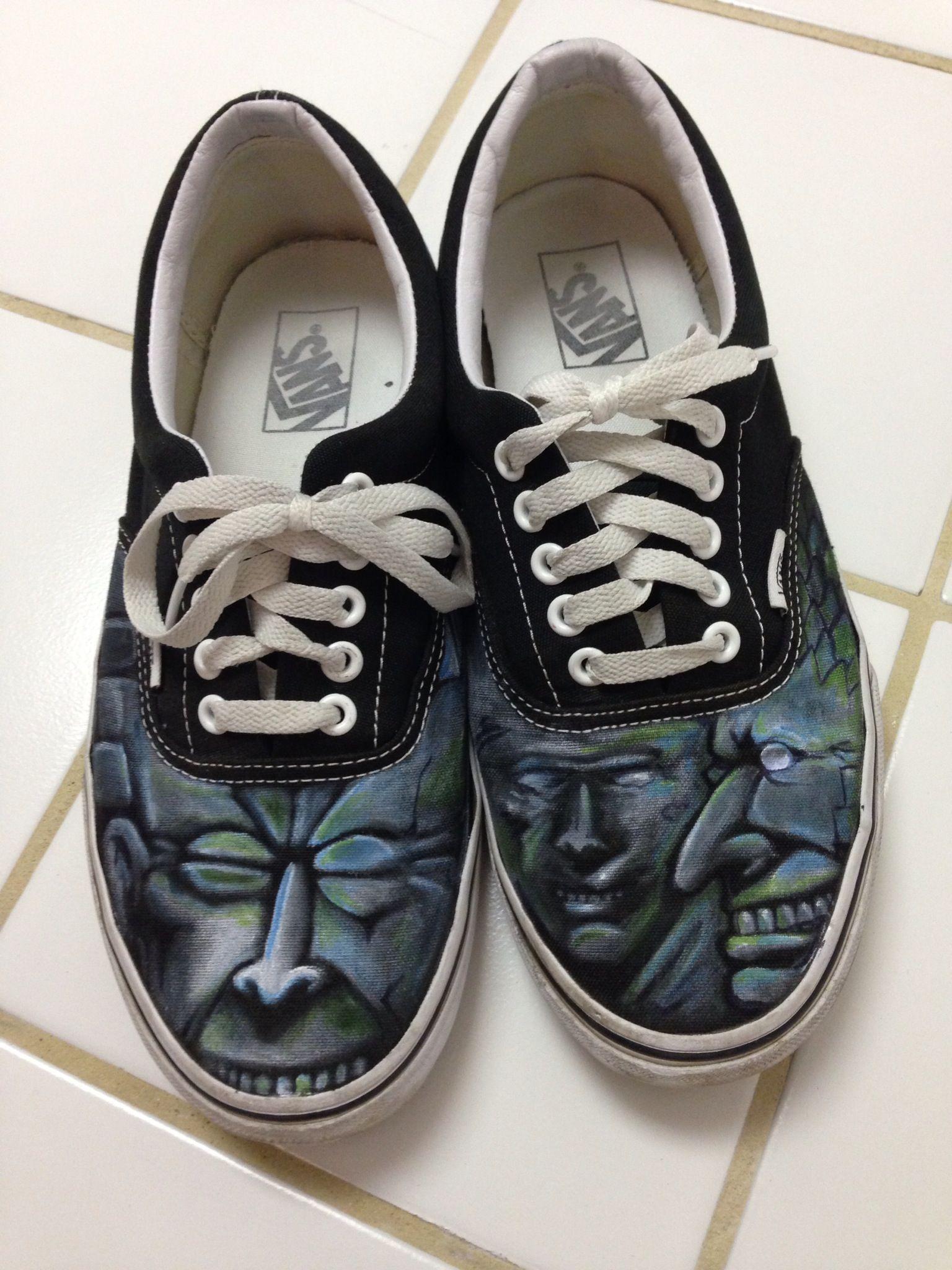 Vans Shoes art by Kelly Parra   Vans