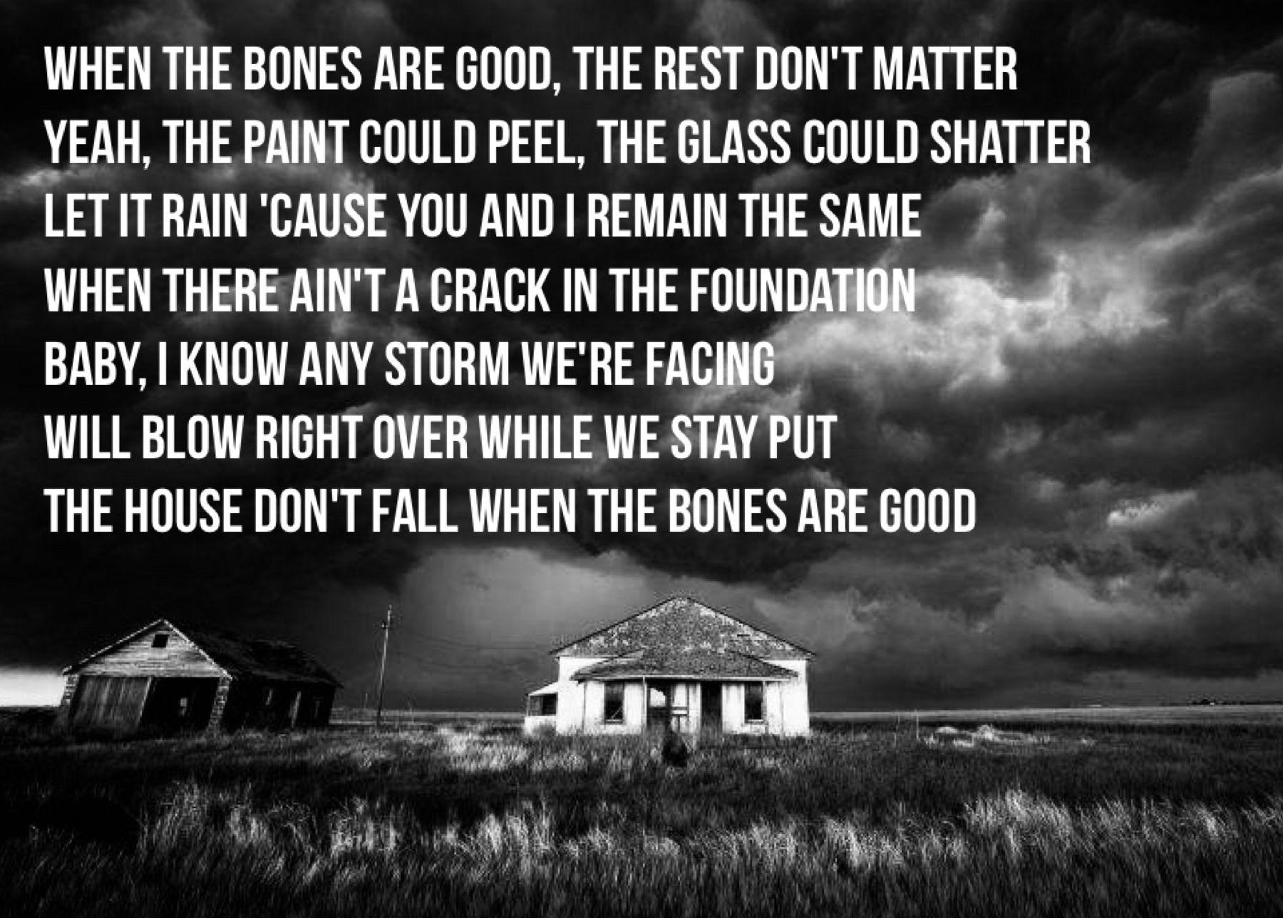The Bones Maren Morris With Images Maren Morris Lyrics