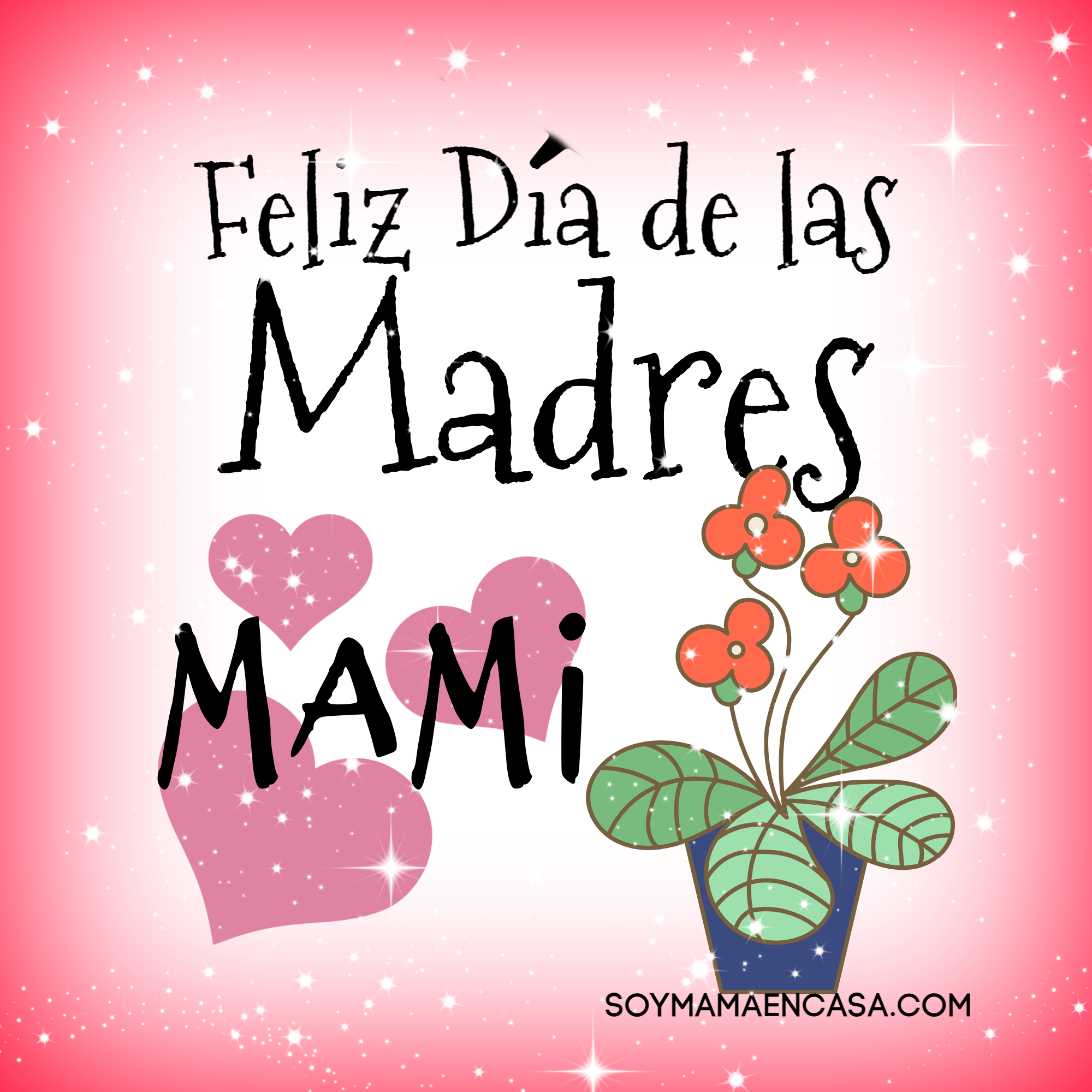 Feliz Día de la Madre Mami   Feliz dia madres frases, Feliz día mamá  frases, Feliz día de la madre