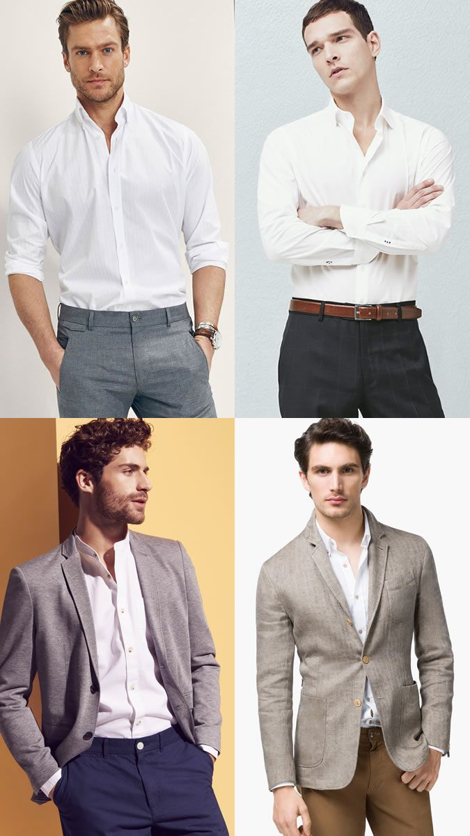 How To Dress For Every Event You Ll Actually Attend This Summer Summer Office Attire Mens Outfits Summer Outfits For Teens [ 1200 x 675 Pixel ]