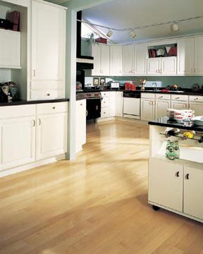 Kitchen Flooring Idea Maple Natural By Appalachian Hardwood Floors