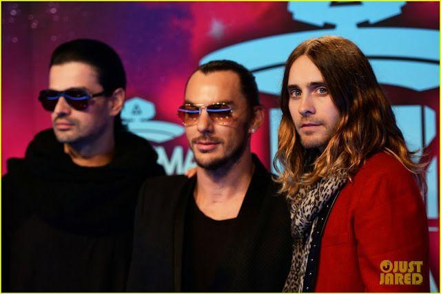 Celeb Diary: Jared Leto & 30 Seconds to Mars @ 2013 MTV Europe Music Awards