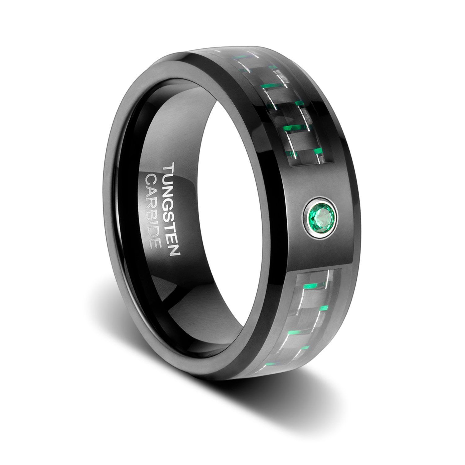 rings us com carbon amazon wedding half inlay dp unisex sizes solitaire blue jewelry tungsten black whole fiber ring