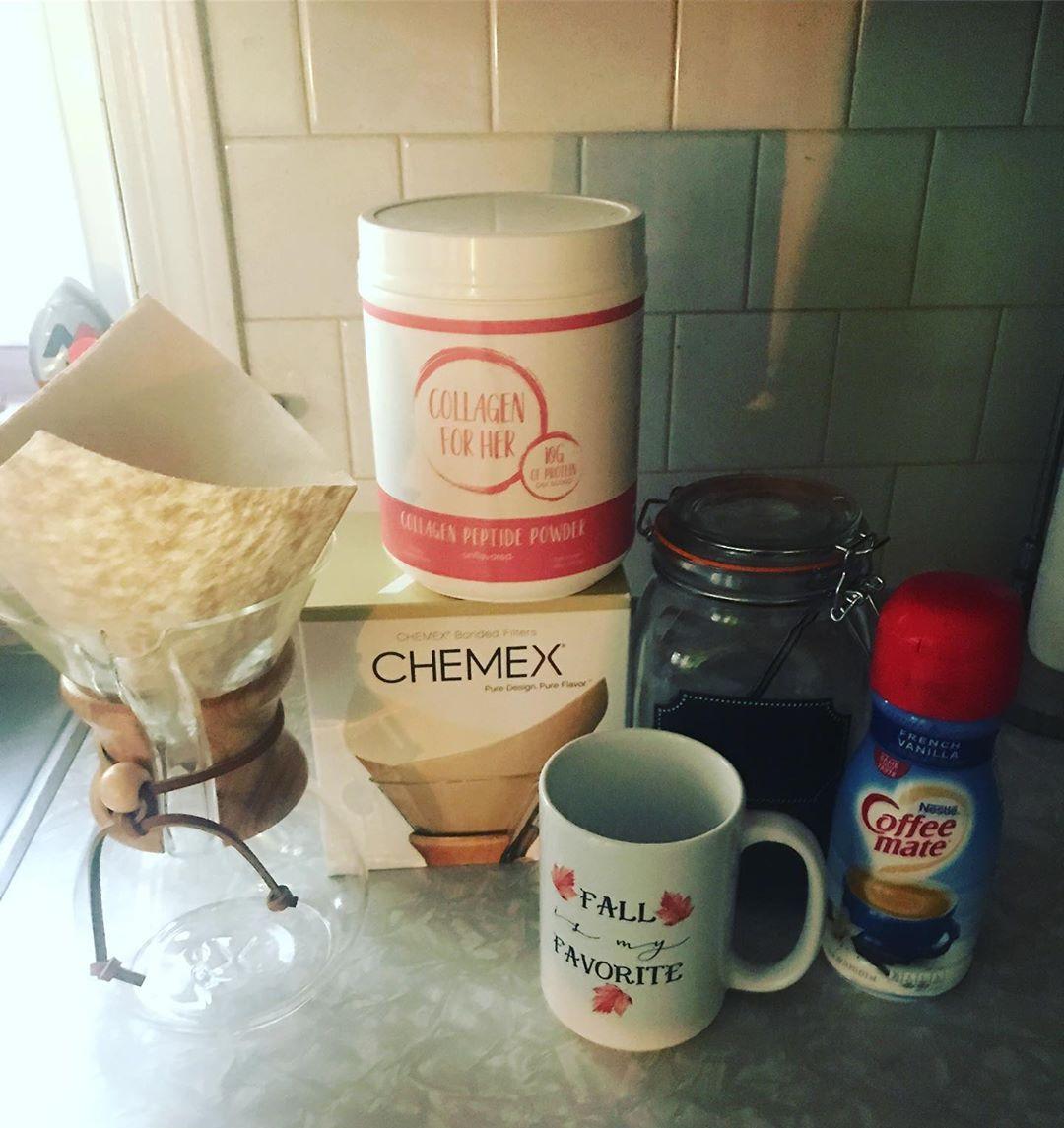 HappyFall best way to start my day..... coffee I do one