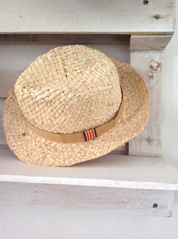 Straw hat for man.  715a83c05413