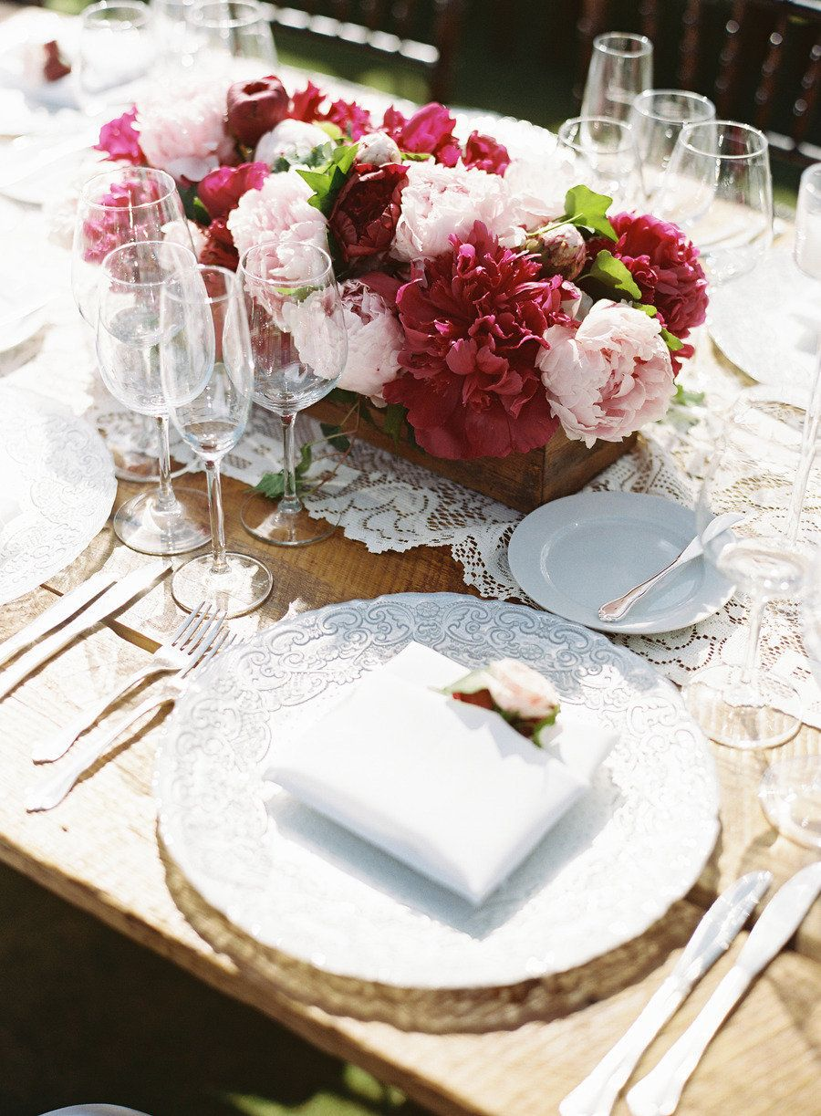 Wedding decoration ideas simple  Miami Wedding from Luxe Fete  Ozzy Garcia Photography  Simple