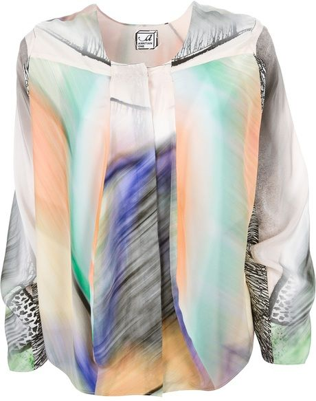 Anntian One Multicolor Printed Blouse