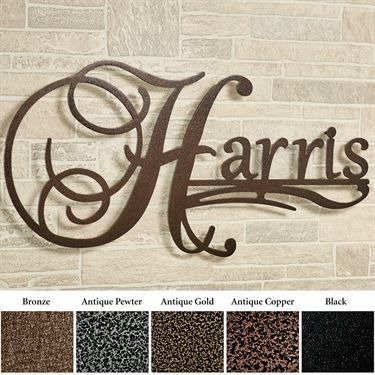 Affinity Personalized Metal Wall Art Sign Metal Sculpture Wall Art Wall Art Sign Metal Artwork Wall