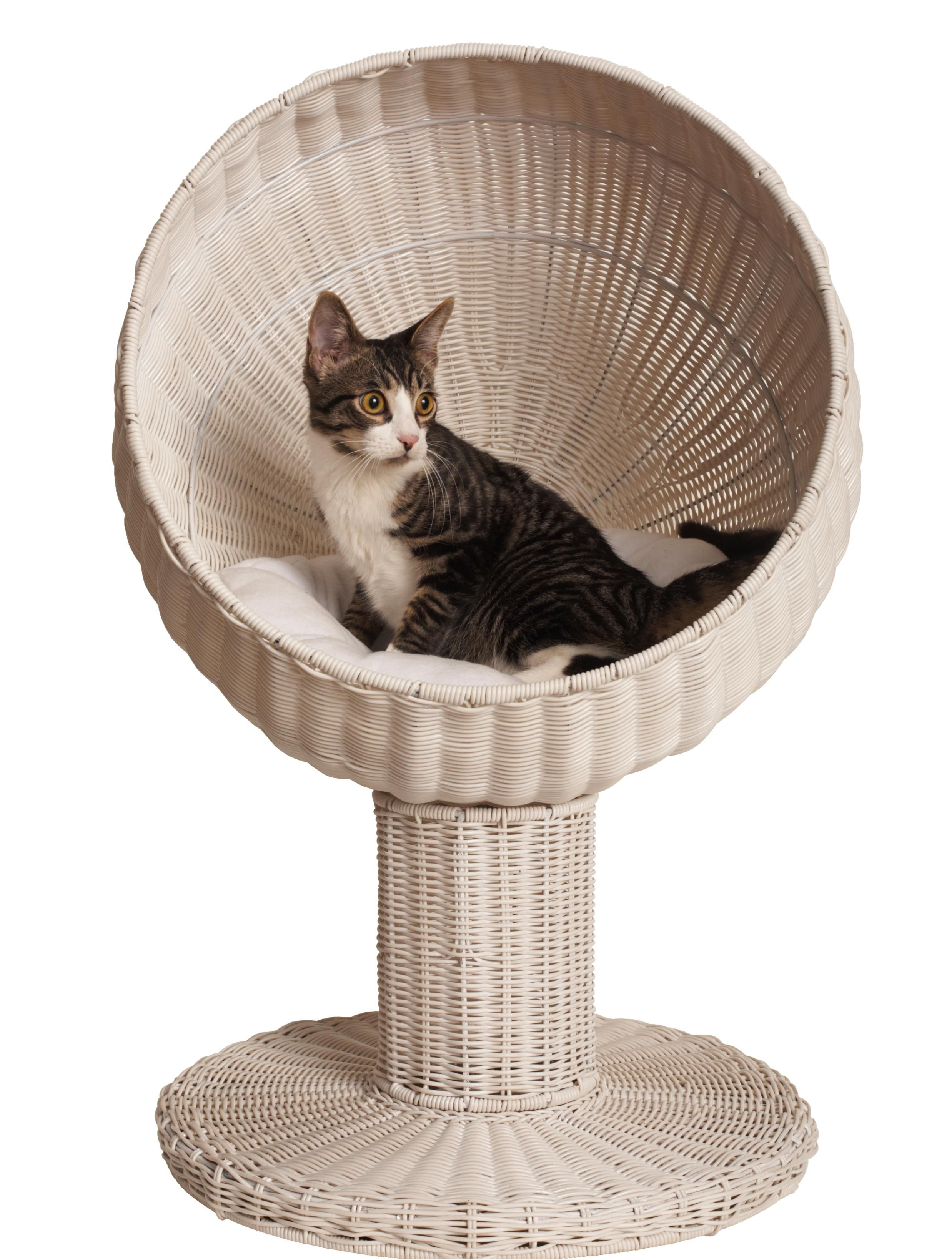 My kitty cats would look cute in one of these Cat bed
