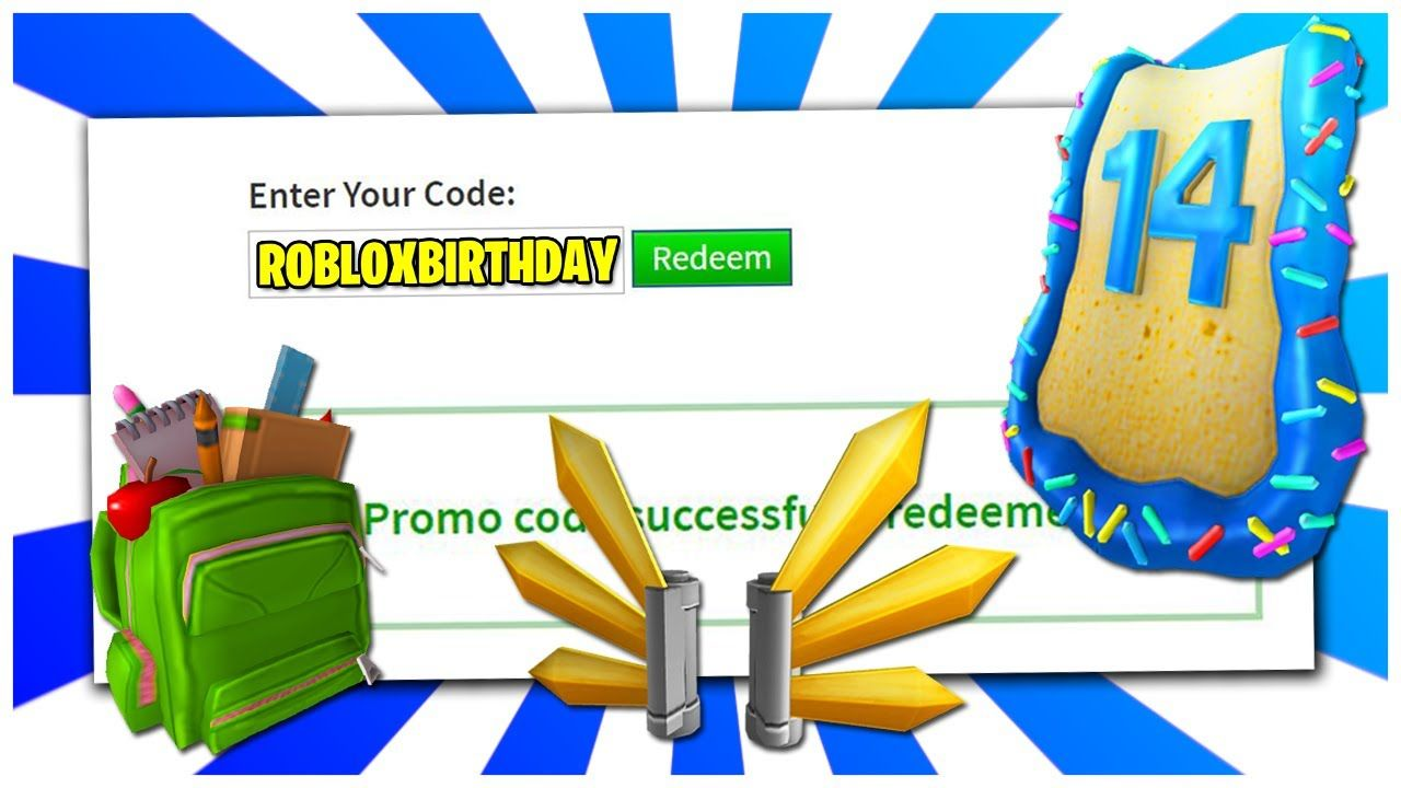 Birthday Cape Codes New Roblox Promo Codes On Roblox 2020 Roblox Birthday Cape September In 2020 Coding Promo Codes Roblox