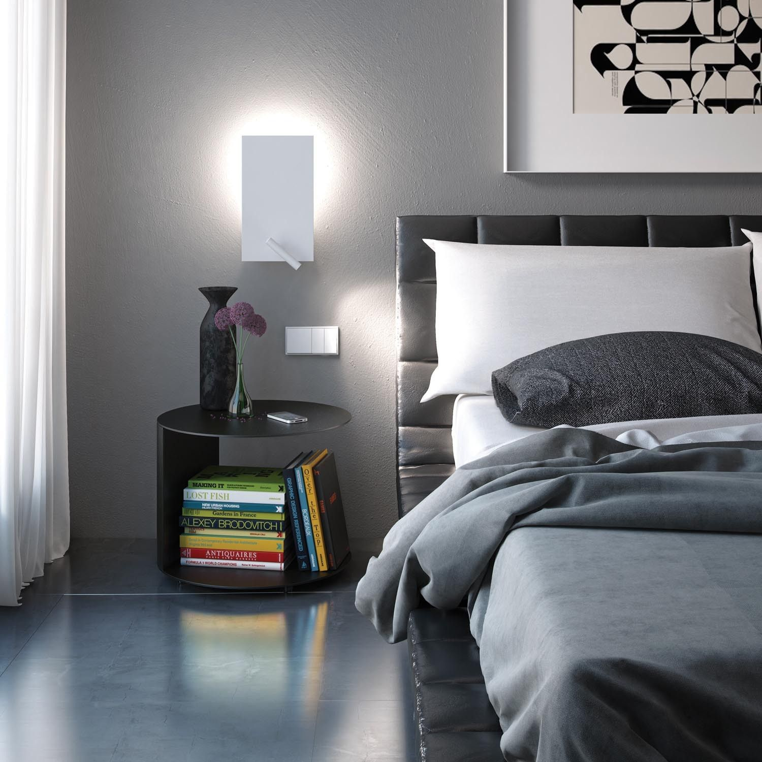 on trend wall sconces in the bedroom interni di camera on wall sconces id=41484