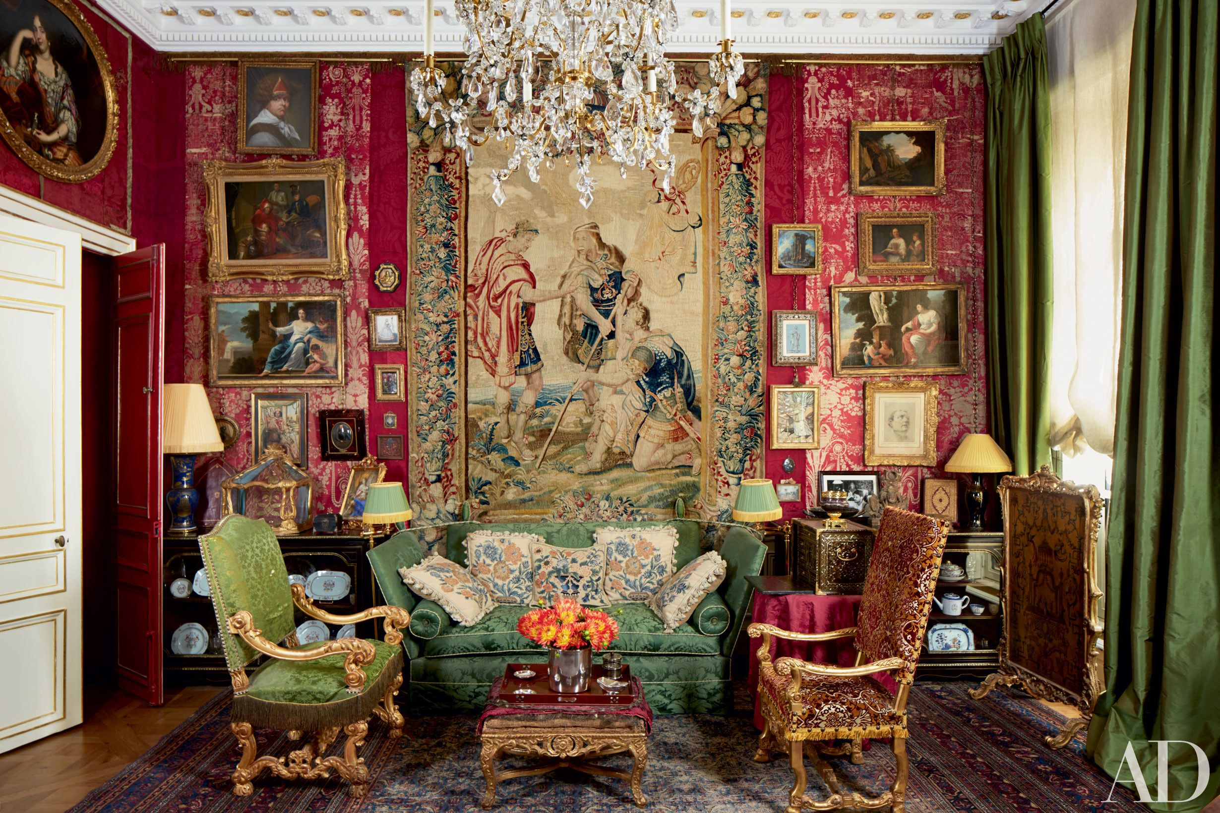12 Unforgettable Living Spaces in Paris   WoRld oF InTeRiOrS ...