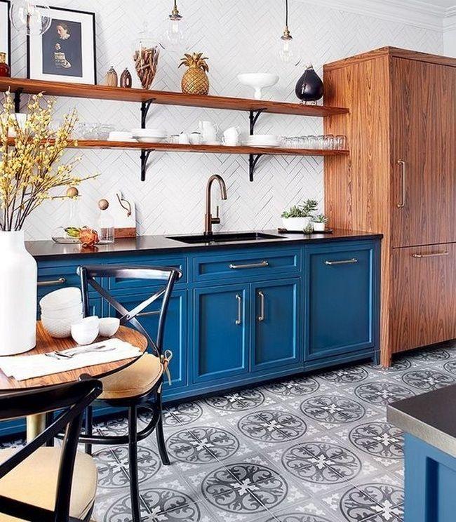 Exceptional 50+ Parisian Kitchen Decor Small Spaces_48