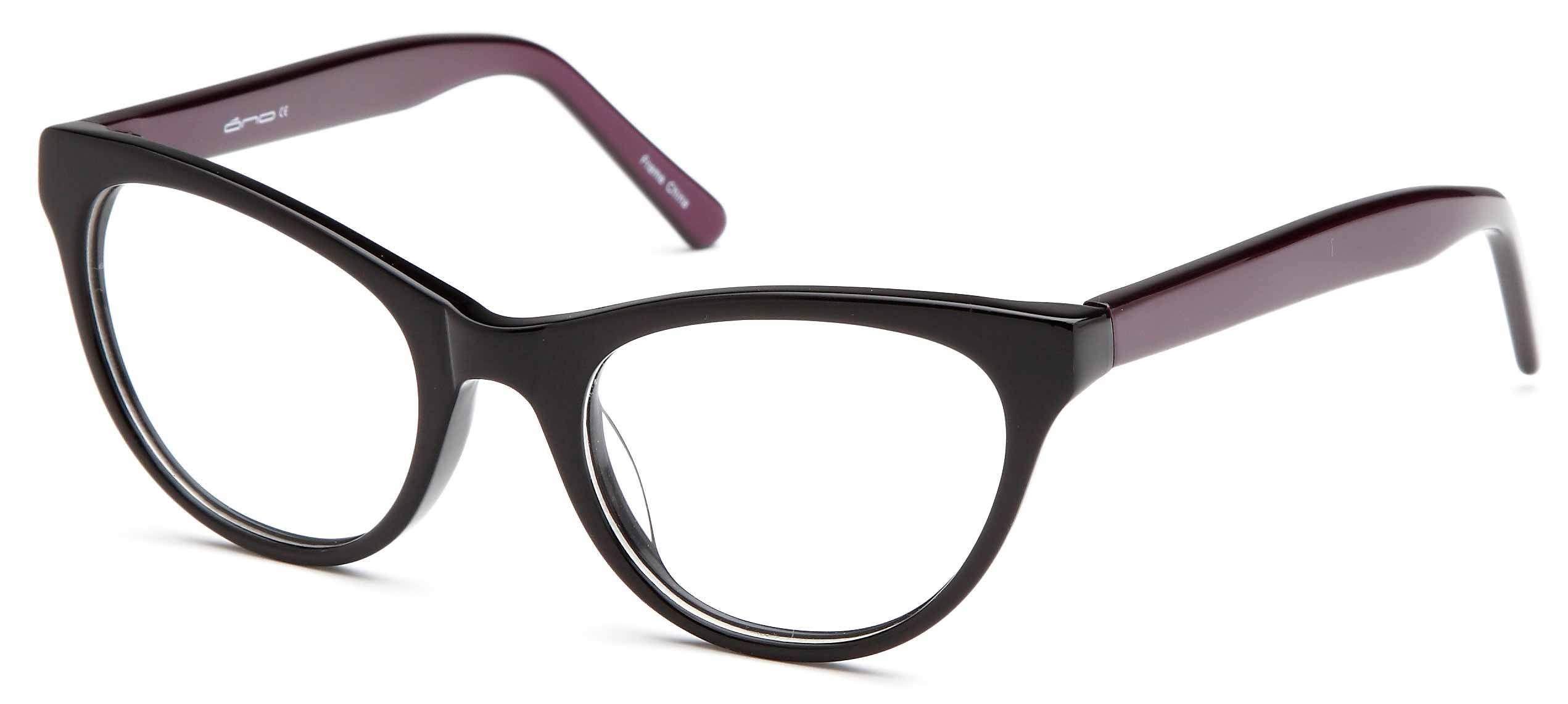 25d56720703a DALIX Womens Cat Eye Two Toned Prescription Glasses Frames Eyeglasses